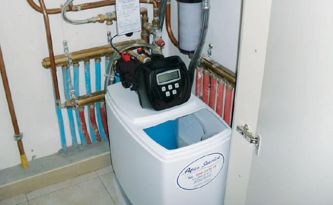 Installeren van een waterverzachter