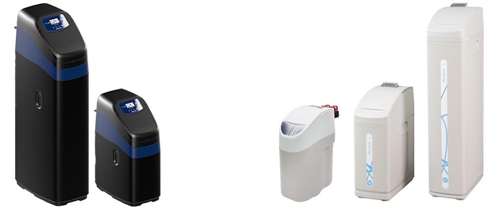Modellen Waterverzachters van Aqua Service